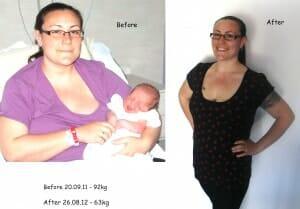 Vanessa weight loss