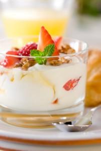 healthy eating yoghurt