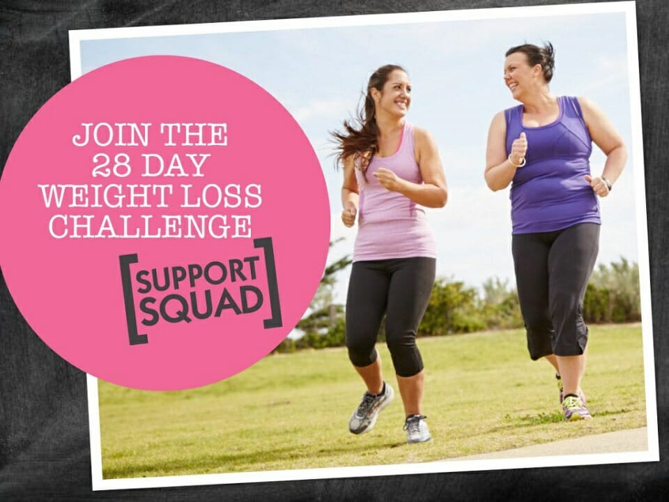 28 day challenge support squad