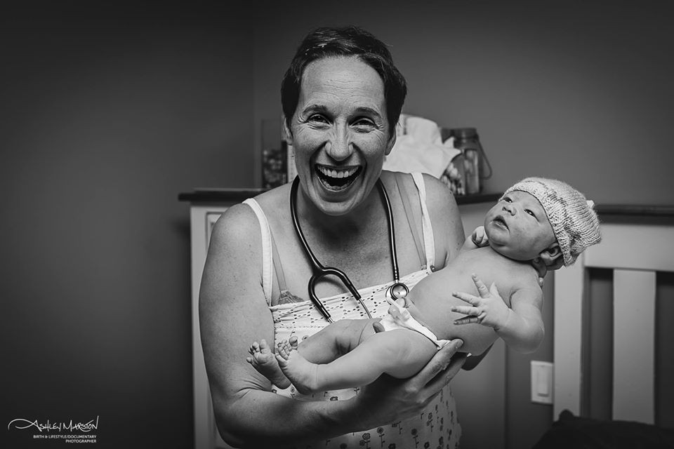 Images celebrate midwives