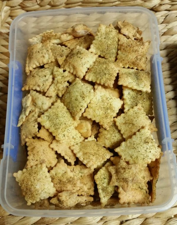 Homemade 4 ingredient crispy 'Shapes' biscuits