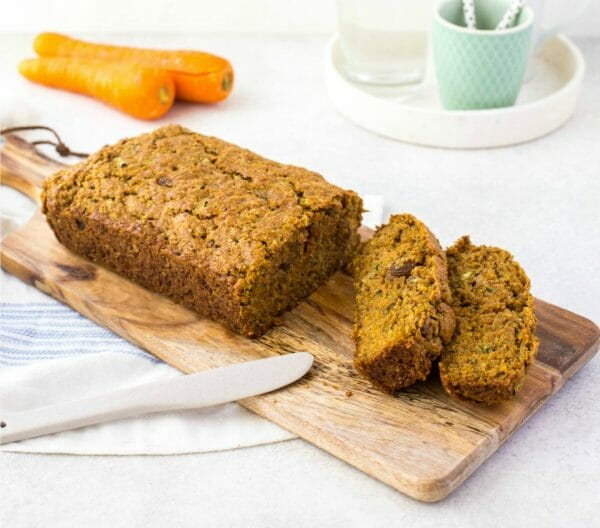 Lunchbox-friendly carrot and zucchini cake