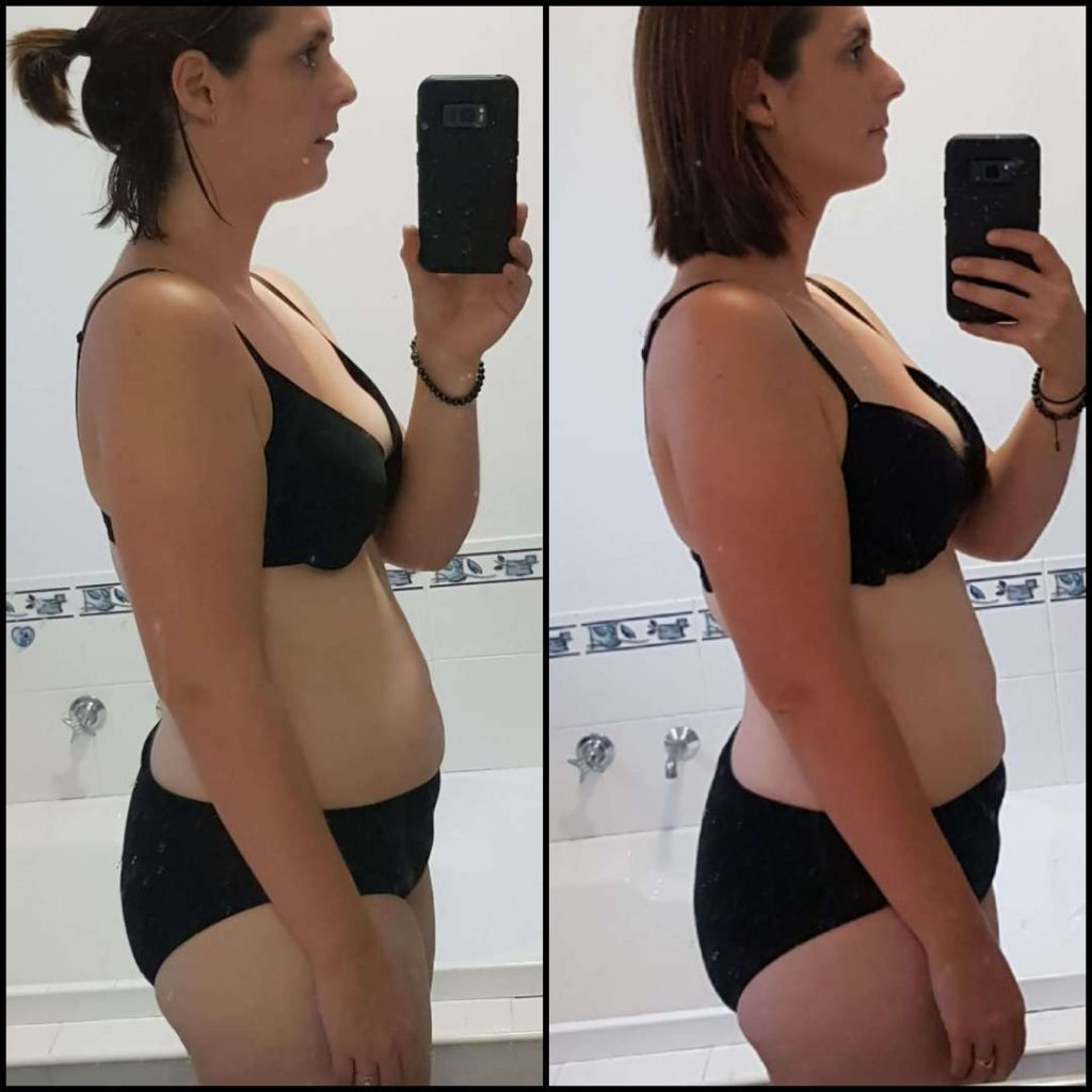 Rebekah Newell before and after 7 day cleanse