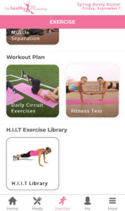 New look exercise library 4 & new HIIT exercise library