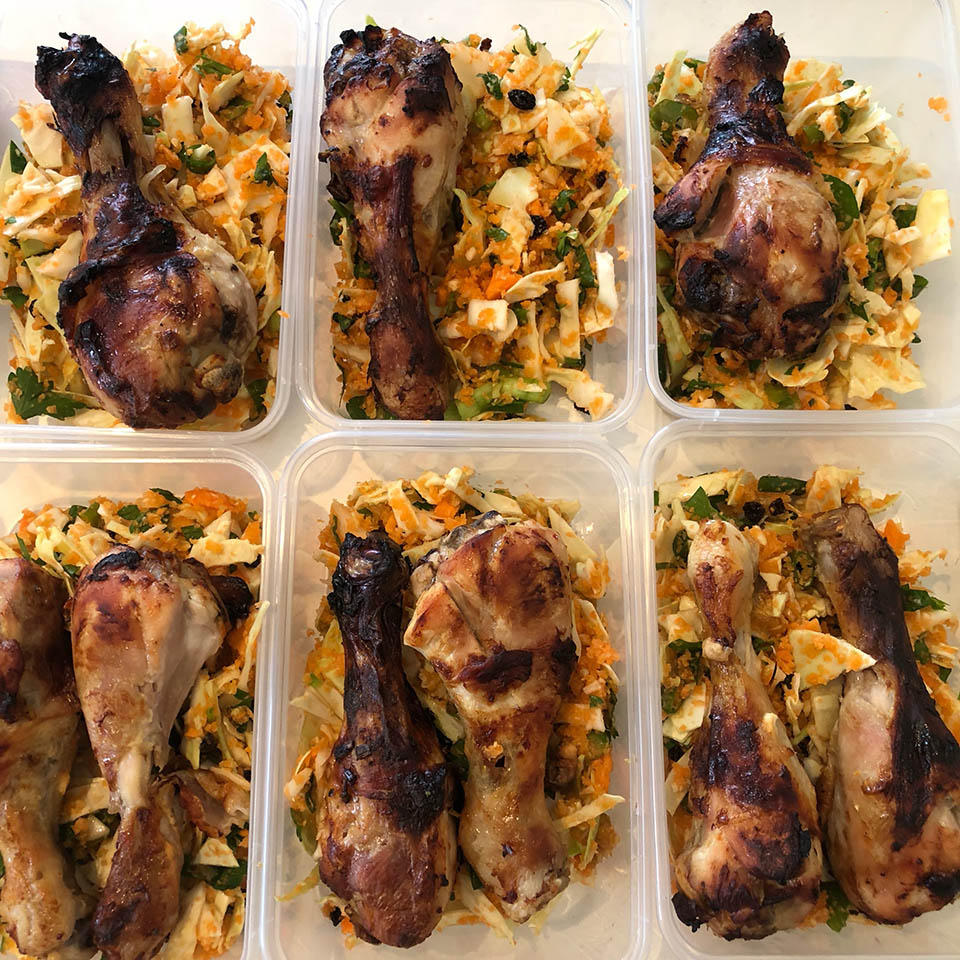sascha meal prep motivation budget Chilli Chicken Drumsticks