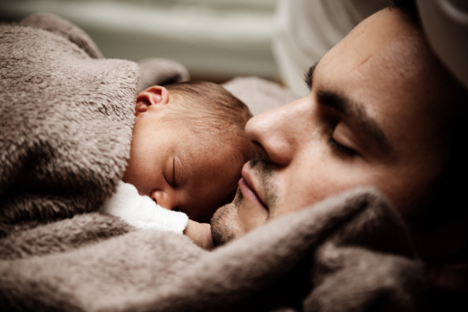 REVEALED! How long parents feel sleep deprived for after having a baby