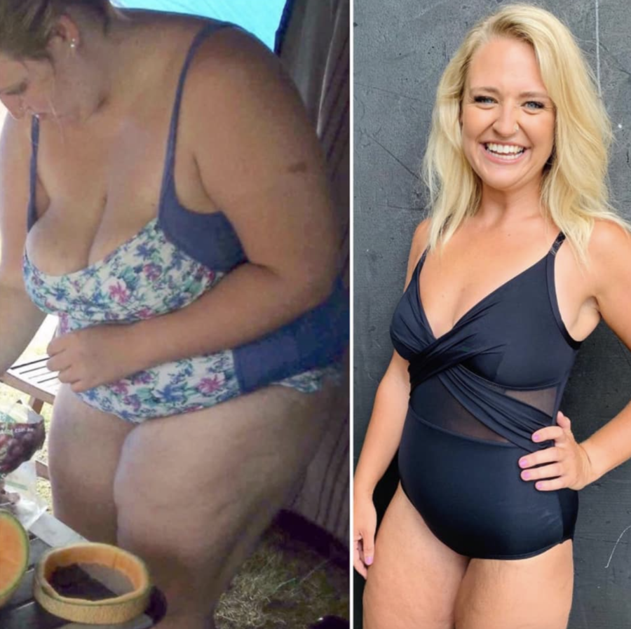 Cicily, who has lost 56kg, shares what meals she makes to help her see HUGE results