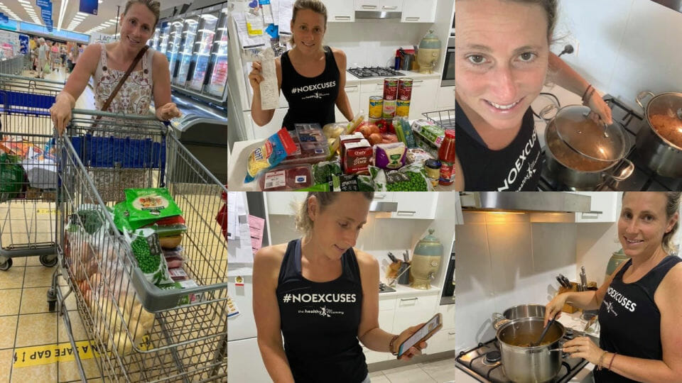 Mum makes 36 meals for $93 – that's just over $2.50 a meal!