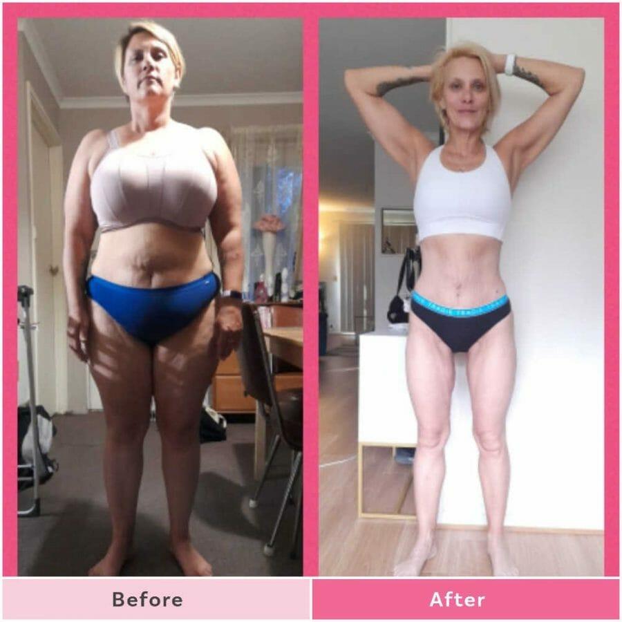 Amanda Grace has lost 37kg