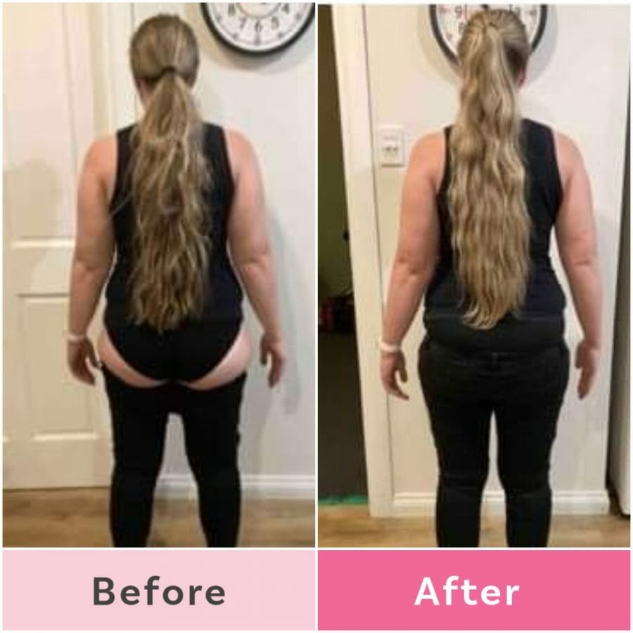 This mum looks AMAZING after losing weight on the 12 Week Challenge